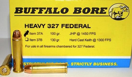 Buffalo Bore 327 Magnum Ammunition