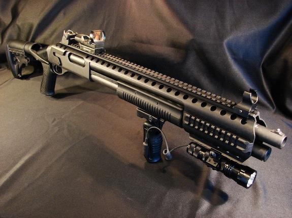 Black Aces Shotgun Rail
