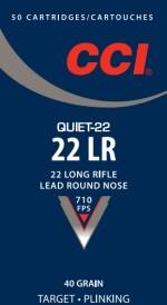CCI Quiet-22 ammo