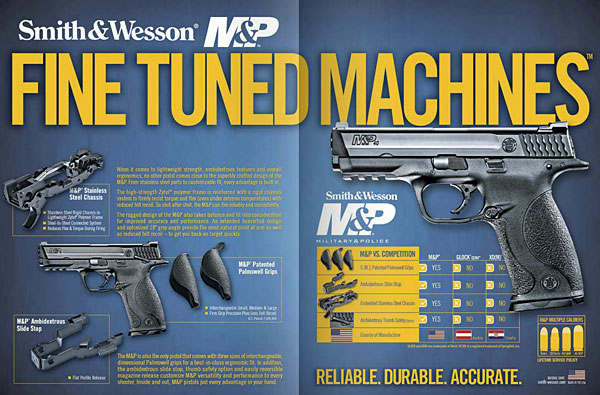 Smith & Wesson M&P Ad