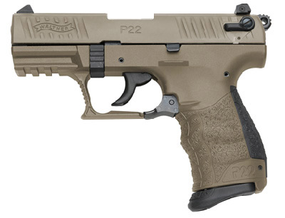 Walther P22 FDE