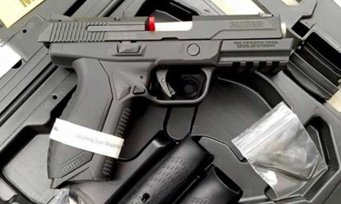 Ruger American Handgun side