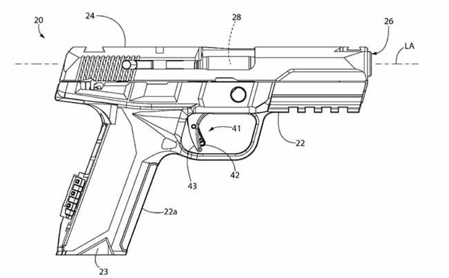 ruger patent diagram