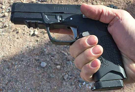 Avidity Arms PD10 at the shot show