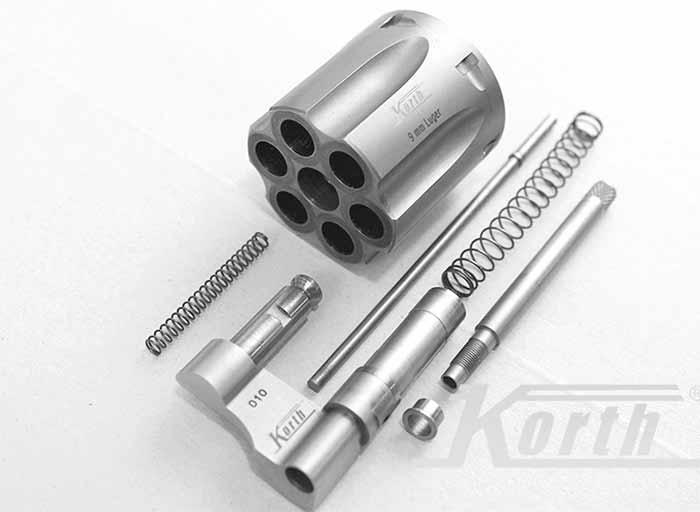 Korth 9mm conversion kit