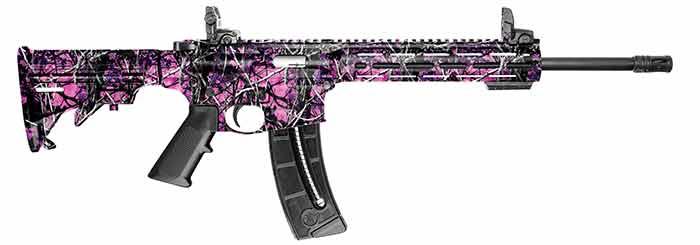 Smith & Wesson 15-22 muddy girl