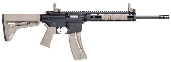 Smith and Wesson MP 15-22 MOE SL