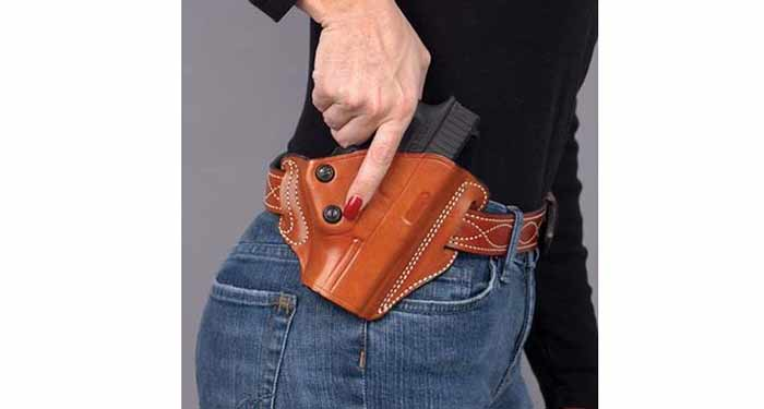 DeSantis leather OWB for Glock 19