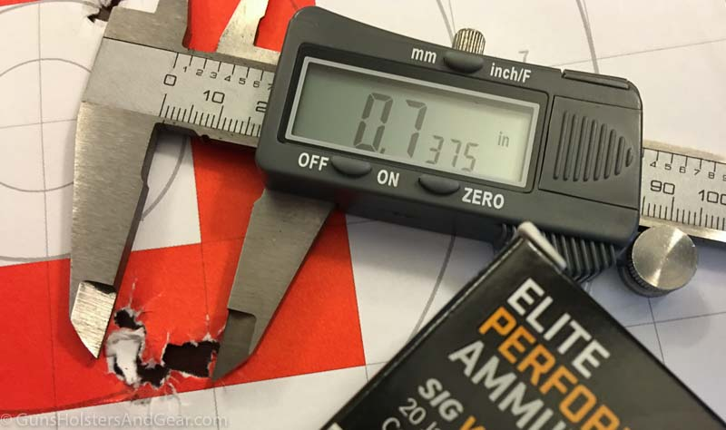 SIG Elite Performance 147 gr JHP review
