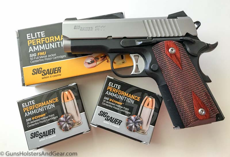 best ammo for SIG 1911