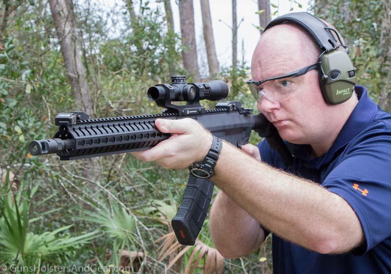 shooting the Mk47 mutant