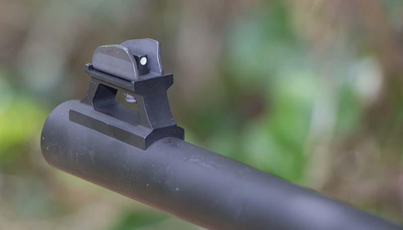front sight on Beretta 1301 shotgun