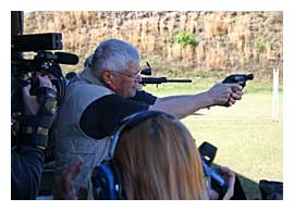 Michael Bane shoots the Ruger LCR