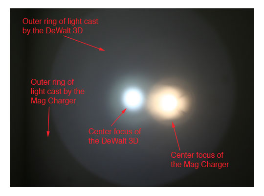 DeWalt 3D LED Flashlight