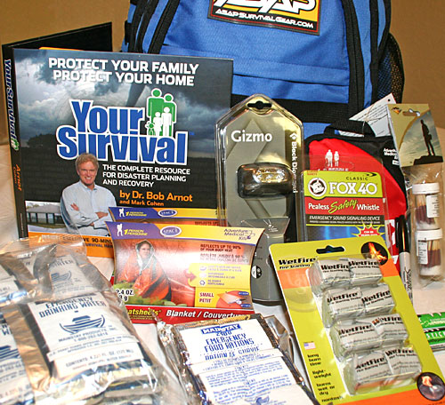 Contents of the ASAP Survival Bug Out Bag Review