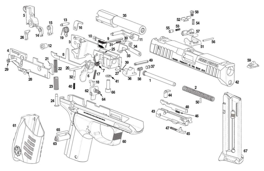 colt ar 15 parts diagram