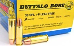 Buffalo Bore .38 Special Short-Barrel Ammo