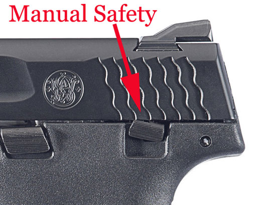 Smith Wesson Shield Safety