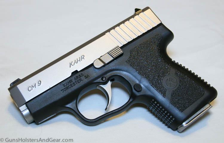 Kahr 9mm handgun