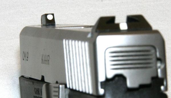 Kahr CM9 sights