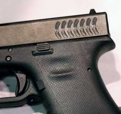 Glock RTF2 Finish on the Glock 22: Thousands of Polymer Spikes