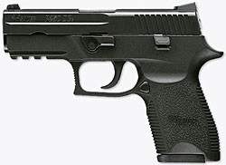 New SIG P250 Pistol at IACP Convention