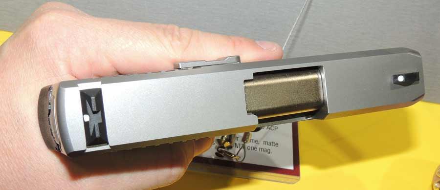 Kahr CM45 slide