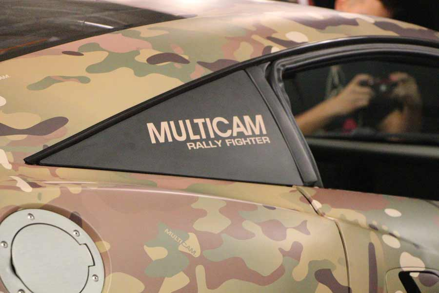 MultiCam Rally Fighter