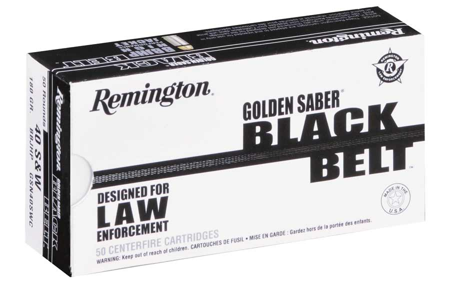 Remington Black Belt ammo