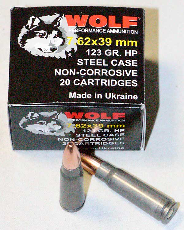 reload steel case ammo