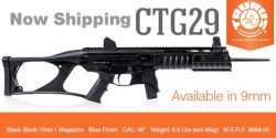 Taurus CTG29 Carbine – Now Shipping
