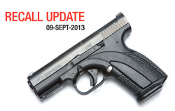 All Caracal C Pistols Recalled: No Fix Available