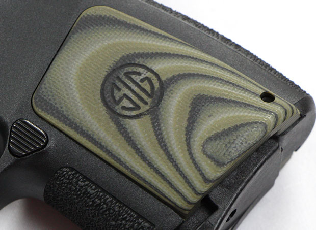 SIG P290RS grip panels
