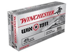 Winchester Making New 1911 Ammo