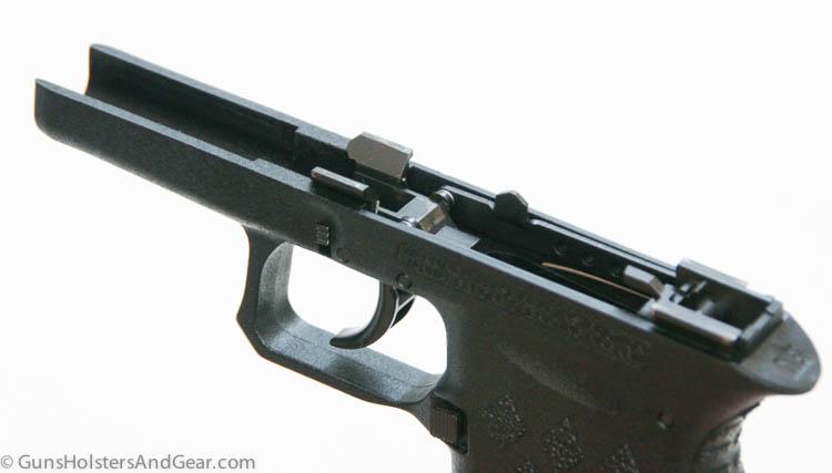 frame of the pistol
