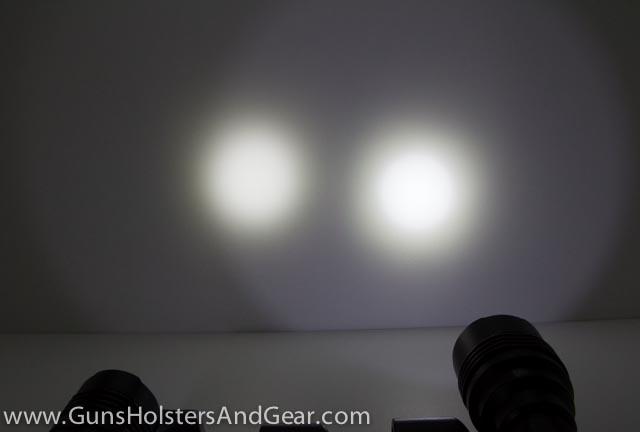 ProTac HL light comparison