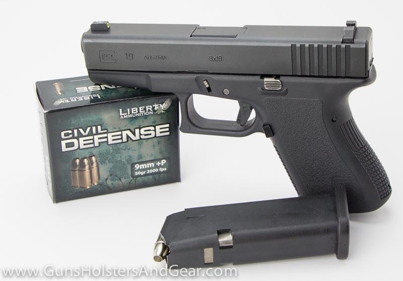 Civil Defense ammo in Glock 19