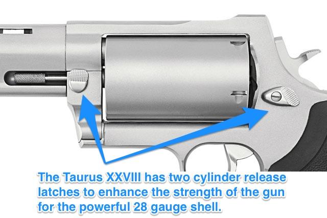 Taurus 28 Gauge Revolver