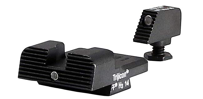 Heinie Straight Eight Ledge Sights for Glock 43