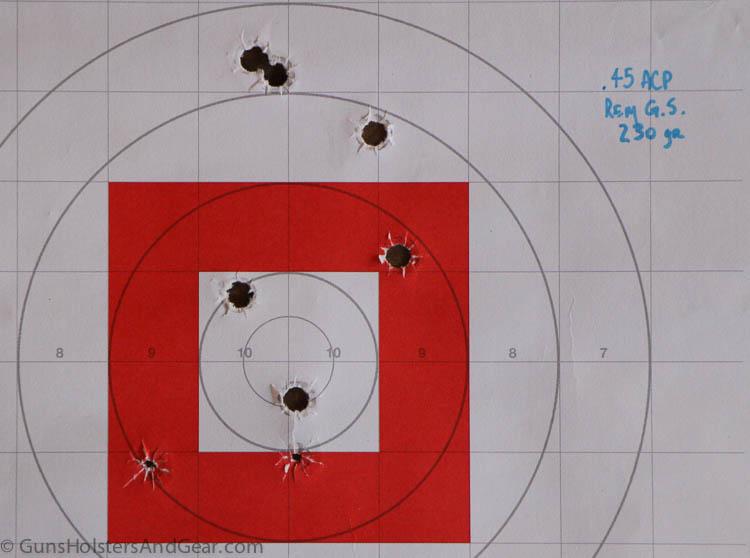 45 ammunition performance