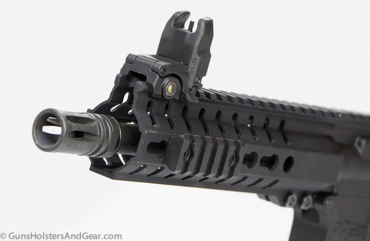 A2 flash suppressor on the Mk4 PDW