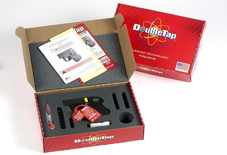 DoubleTap gun and box