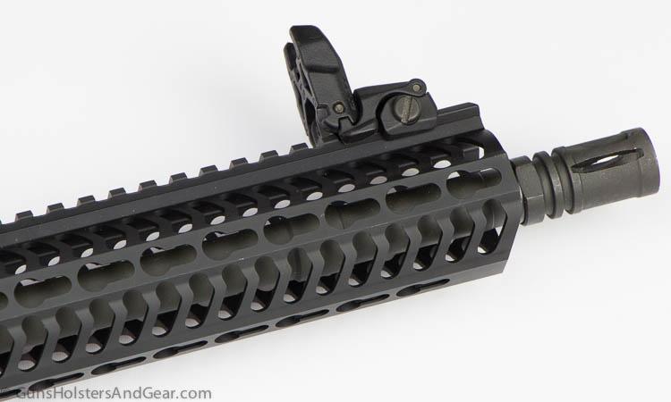 muzzle device on 9mm pistol