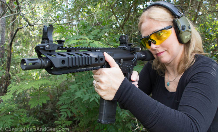 on the range with the CQC