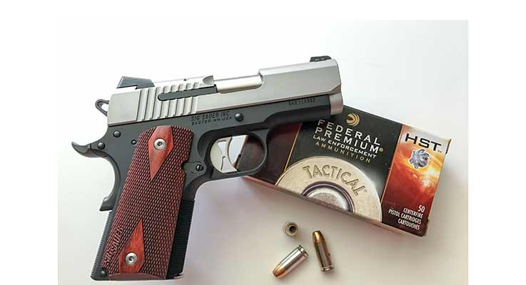 Accurate and Beautiful: Review of the SIG 1911 Ultra Compact 9mm
