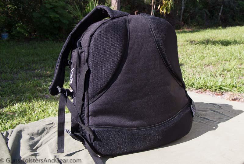 backpack style range bag