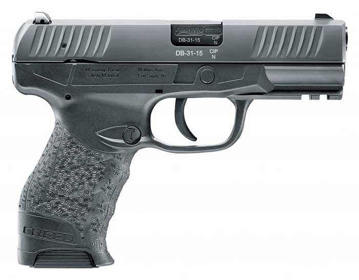 new walther pistol creed