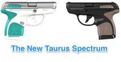 Taurus Spectrum: Colorful New .380 Pistols for 2017