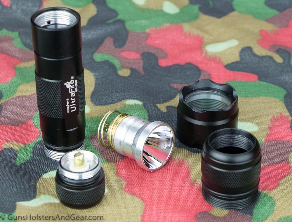 UltraFire WF-502B flashlight review