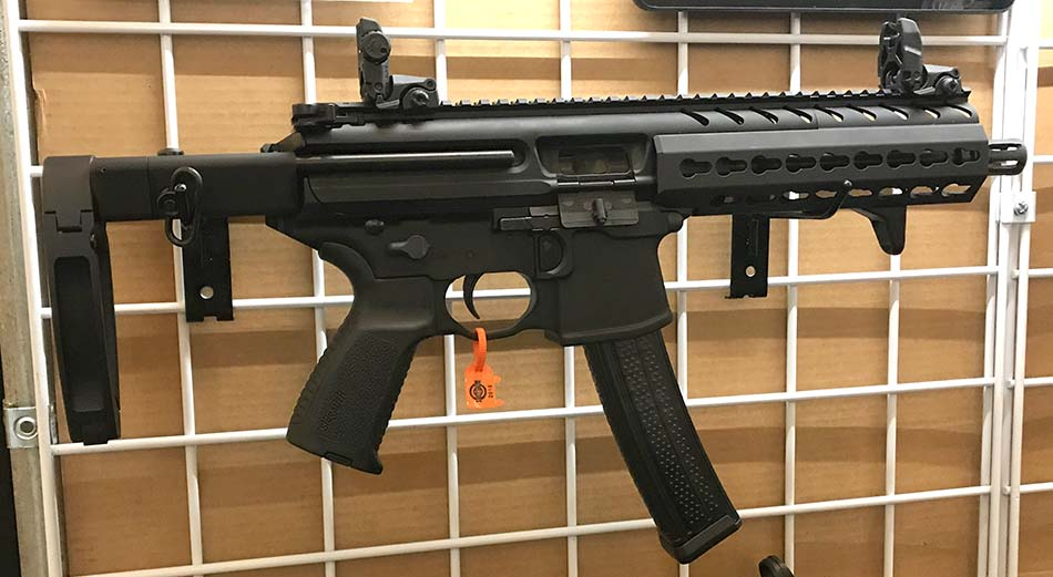 Safety Harbor Firearms KES with Tailhook for SIG MPX